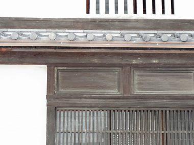 160512大坂適塾の板軒