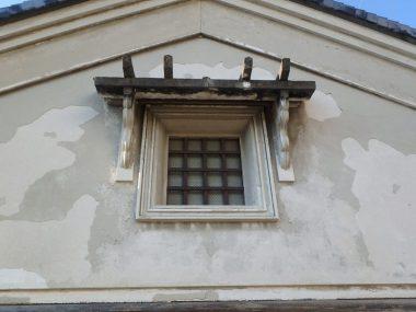 210829小槻の登録文化財の修理 漆喰壁