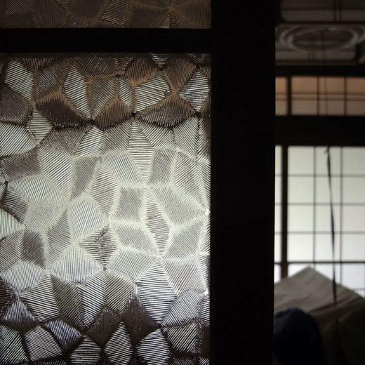 古建具 型板硝子