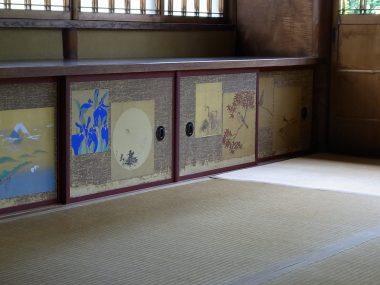 毛利家住宅 化粧の間の地袋