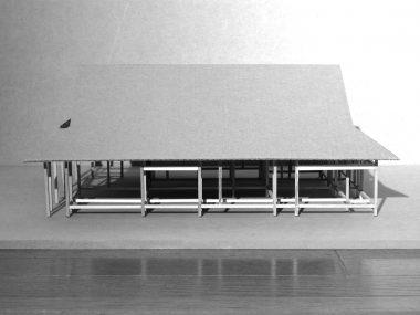 寺院庫裏 建築模型 構造模型