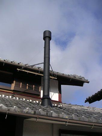 煙突のある家 古民家改修