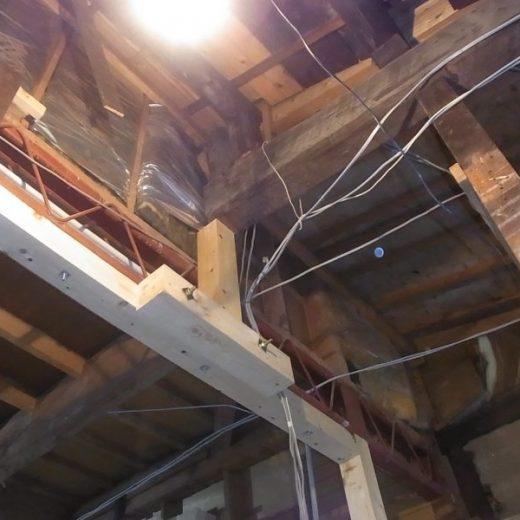 長屋の耐震改修