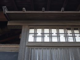 151016枚方市 北河内尊延寺の町並み 武者窓