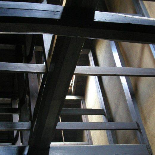 京町家の耐震性 準棟纂冪 火袋の架構