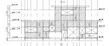 M邸軸組図 限界耐力計算用