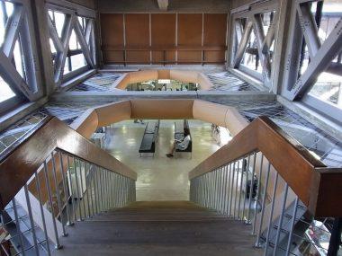 倉吉市役所本庁舎(登録文化財の耐震補強例)