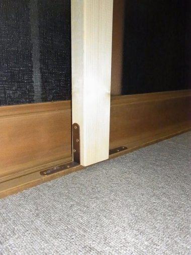 伝統構法木造住宅の介護リフォーム 手すり