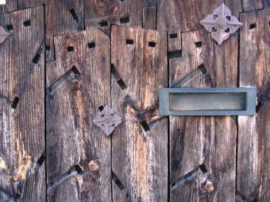 町家の活用 舟板を使った板壁