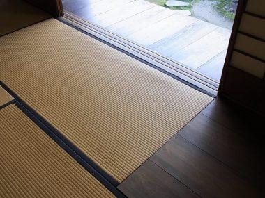 旧河澄家 畳と式台 和の神髄 客を迎える