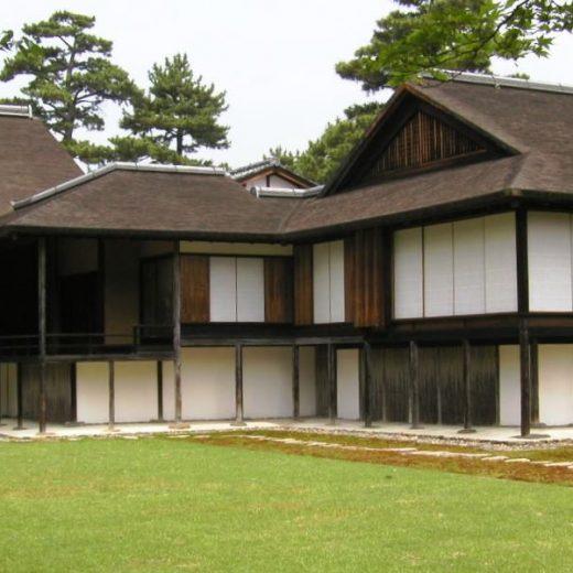 桂離宮 新書院と中書院 伝統構法の建物