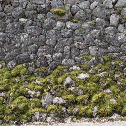 船坂の石積み(玉石積み)