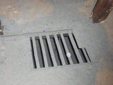 和歌山庫裏M39 竹簀の子の床 置き土