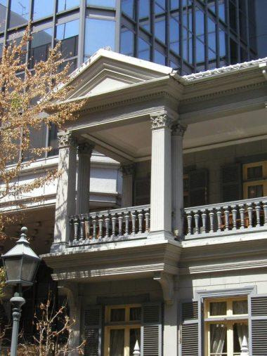 旧神戸居留地十五番館 再建後の姿 1880年頃築