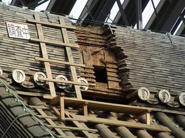東本願寺 大規模寺院の改修工事