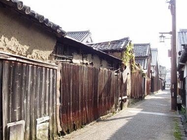 修理前の町家 今井町の今