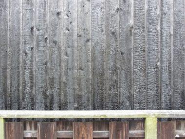 宇陀松山 現在の焼杉板の外壁