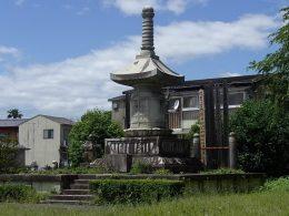 180520京都帝国大學医学部納骨墓は宝篋印塔