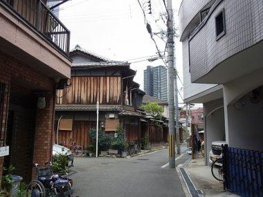 180809大阪福島区の昭和な町並み