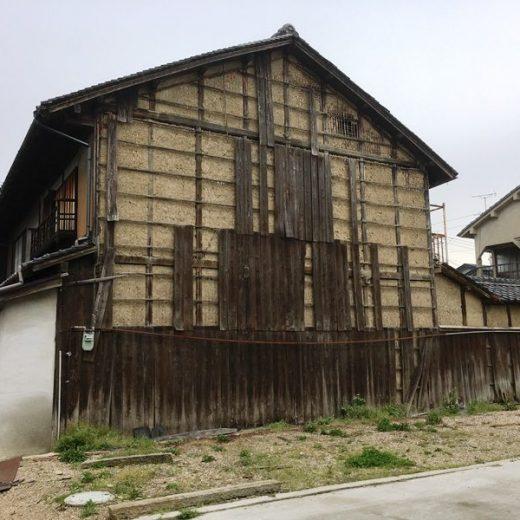 170627焼杉板の崩落 日めくり町家wacca[1]