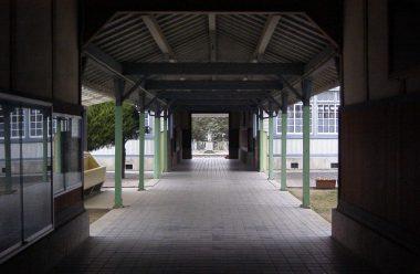 内藤克雄 西脇小学校玄関見返り
