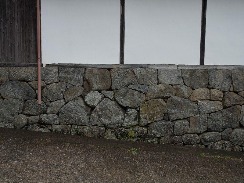 210619多武峯旧真法院の石垣