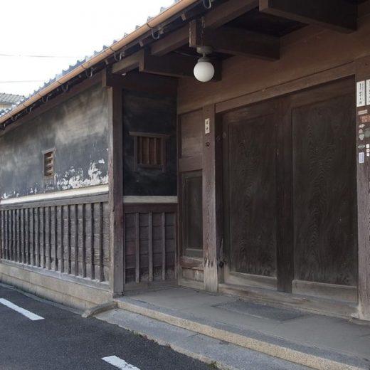 151016北河内尊延寺の長屋門 二項道路