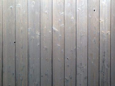 210212八木好川家の焼杉板 張替え 真鍮釘