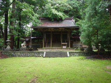 200713飛鳥川上坐宇須多伎比賣命神社 拝殿