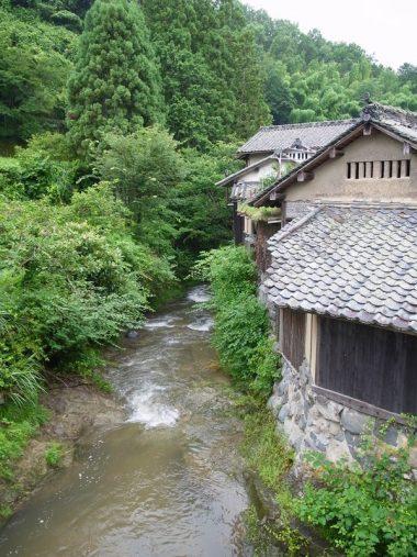 200713明日香村栢森集落と飛鳥川