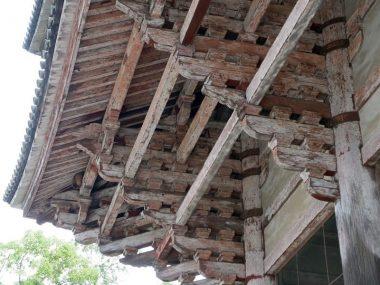 200729東大寺南大門の木組み