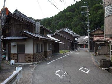 200813東吉野村小川の街道筋