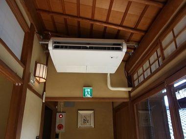 101112岸和田五風荘 文化財活用にはエアコンも必須