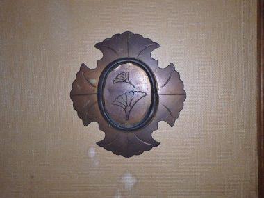 201215大和郡山の旧遊郭 銀杏の引き手