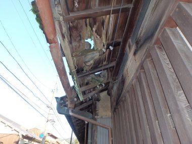 201229飛鳥の町家 崩壊する空き家