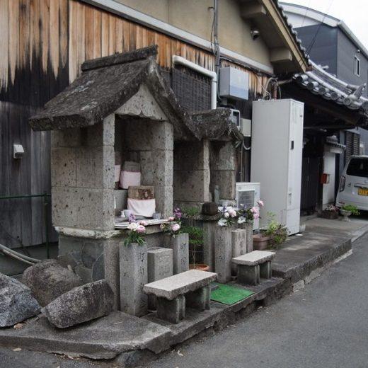 200515中町阪門神社の鬼瓦