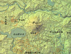 200421西宮市甲山 国土地理院地図